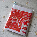 Smile For The Camera Tea Towel