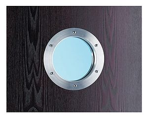 Dinky Porthole for Doors - door knobs & handles