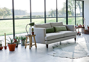 Marlon Three Seater Modern Sofa