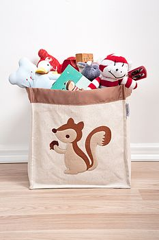 Squirrel Storage Hamper