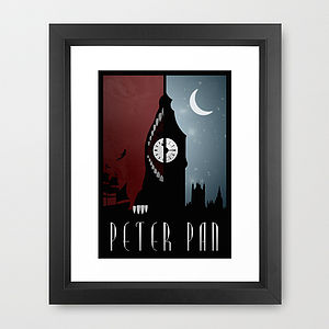 Peter Pan Print - pictures & prints for children
