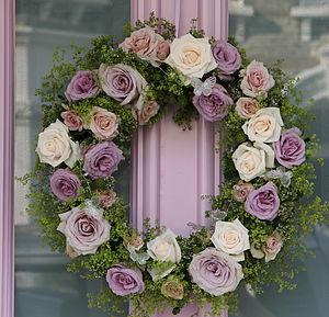 Fresh Rose Wreath