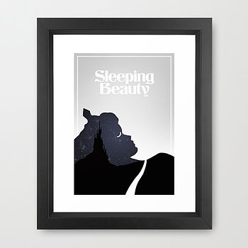 Sleeping Beauty Print