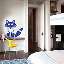 Children's Woodland Fox Wall Sticker