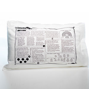 Drama Printed Study Pillowcase - bed, bath & table linen