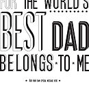 'World's Best Dad' Print