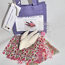 Decorate With Liberty Bird Craft Kit - Pink