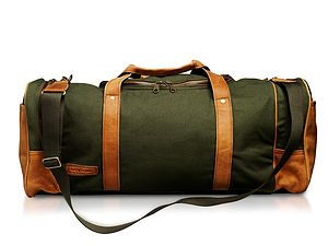 Sandstorm Pioneer Canvas Bag - men's accessories