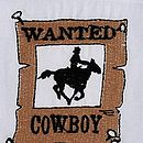 Boy's Cowboy Cotton Pyjamas