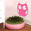 Woodland Owl Wall Sticker Decal