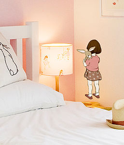 Belle Hugs Boo Wall Sticker - children's room accessories