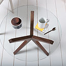 Trio Glass Table