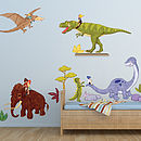 Dino Ride Wall Stickers