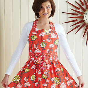 Lauren Cotton Apron - kitchen accessories