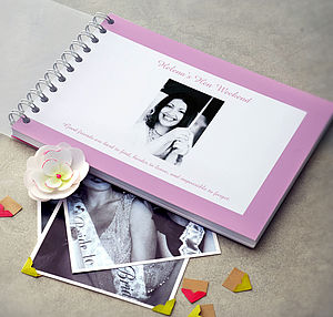 Personalised Hen Night Book - hen party styling