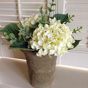 Artificial Hydrangea Arrangement - room decorations