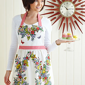 Martha Cotton Apron - aprons