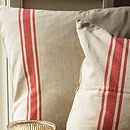 French Bistrot Style Cushion Cover
