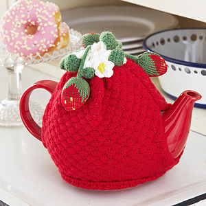 Brigette Knitted Tea Cosy - kitchen accessories