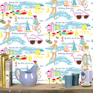 Seaside Wallpaper - home decorating