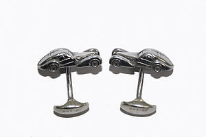 Racing Car Cufflinks - men's accessories