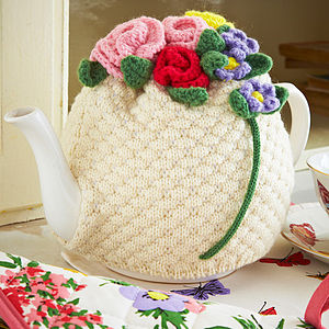Martha Knitted Tea Cosy - kitchen accessories