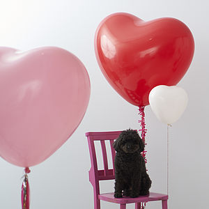 Heart Shaped Balloon - room decorations