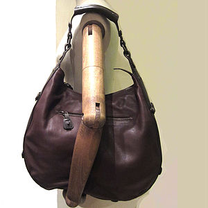 Coco Leather Handbag - shoulder bags