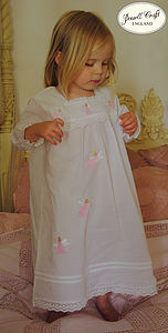 Personalised Girl's Nightdress With Doll - clothing