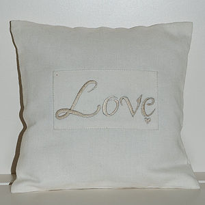 Love Cushion - cushions