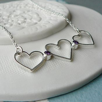 Hanging Heart Necklace