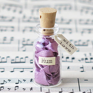 Message In A Bottle For Mum - gifts for children to give