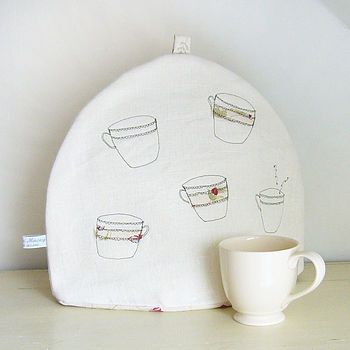 Floral 'Teacups' Tea Cosy - Front