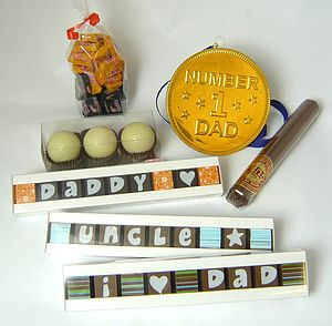 Personalised Chocolate Gifts For HIM - gifts for fathers