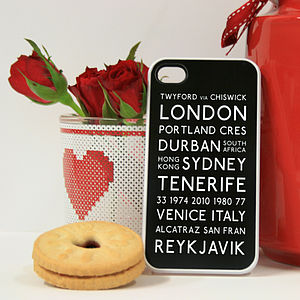 Personalised Memories Case For iPhone - technology gifts