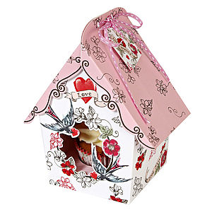 Valentine Cupcake Gift Box Small - wrapping