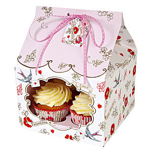Valentine Cupcake Gift Box Large - view all sale items