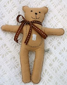 Tooth Fairy Pocket Bear