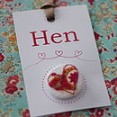 Hen party badge