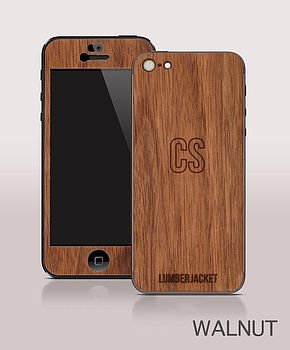 Wooden Cover For IPhone