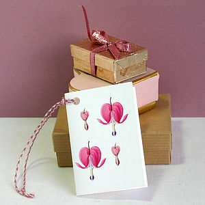 Bleeding Hearts Gift Tags - wedding cards & wrap