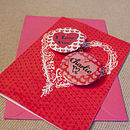 Personalised Valentine's Magnets Card