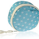 Asari Silk Dotty Jewellery Case