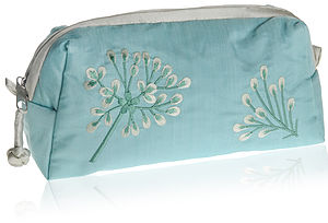 Asari Silk Wash / Cosmetic Bag Three Colours - make-up & wash bags
