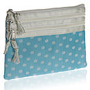 Silk Dotty Cosmetic Purse Various