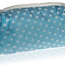 Silk Dotty Wash/Cosmetic Bags Various