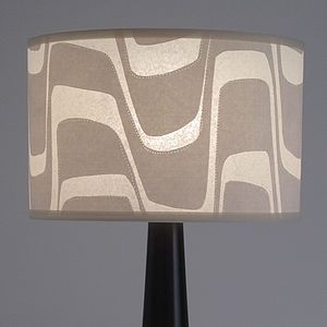 Marble Print Table Lamp - lighting