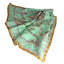 'My Favourite Bird' Luxurious Pure Silk Scarf