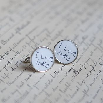 Personalised Picture Cufflinks
