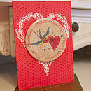Personalised Valentine's Magnet Card